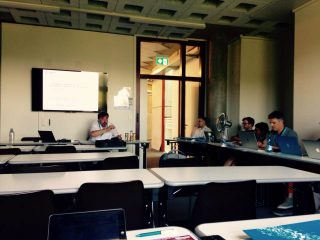"Vortrag ""Tracing Shared Traditions of Reading in Ancient Judaism and Early Christianity: Evidences – Material Aspects – Practices of Reading"" auf dem Enoch Graduate Seminar in Lausanne"
